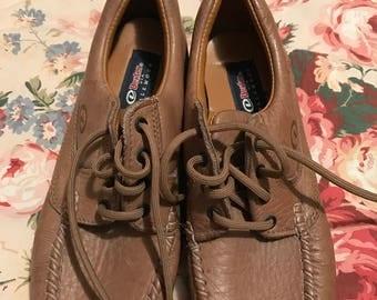 Ladies Dexter WalkMocs Leather Lace-Up Shoes Size 7.5