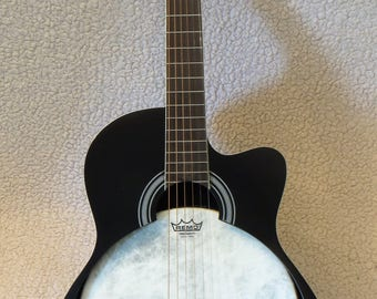Captive Banjo Guitar - delta blues style (4/4 size)