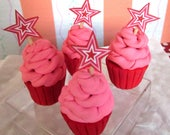 American Girl Party Cupcakes 18 inch Dolls, Birthday Cupcakes, Doll Party Food, Party Favors, Doll Accessories