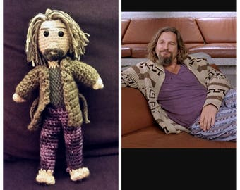CrAFfty Characters: The Dude doll, inspired by The Big Lebowski, Cult Film Hero collection