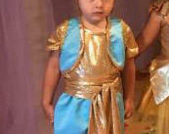 Aladdin costume. Halloween costume. Cosplay Costume. Costume for rent.
