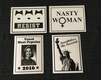 Resistance Postcards - Feminist Pack - Simplicity Collection