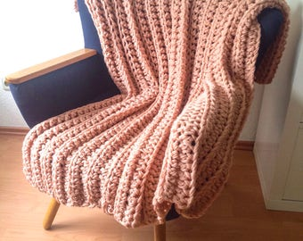 Crochet blanket or lapghan