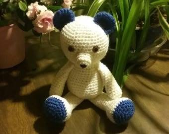 Teddy bear + free shipping | Amigurumi | Crochet | stuffed animal