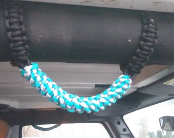 Jeep JK Paracord Grab Handles