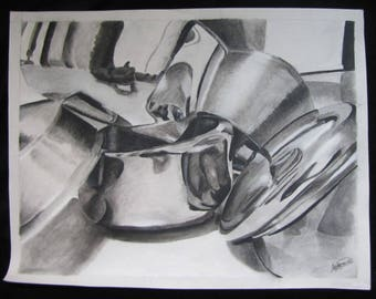 Pots and Pans Charcoal