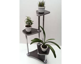 "Free ship! Plant stand ""Wellington"". Flower stand - Indoor plant stands - Plant holder - Plant table - Stand for flowers - Flower shelf"
