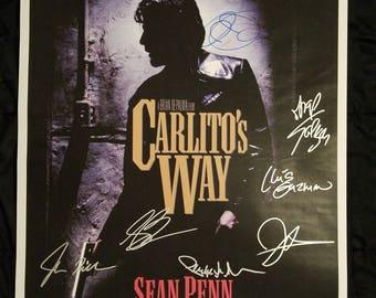 Carlito's Way - Original hand-signed poster 27x40