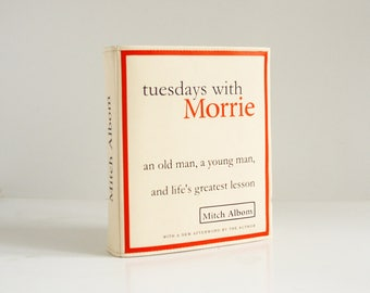 Tuesdays with Morrie Book Purse Mitch Albom Faux Leather Book Bag