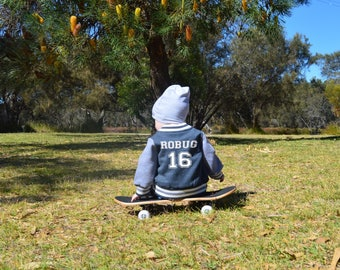 Personalised Baby Varsity Jacket - several colours available