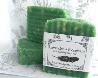 Lavender Rosemary moisturizing soap