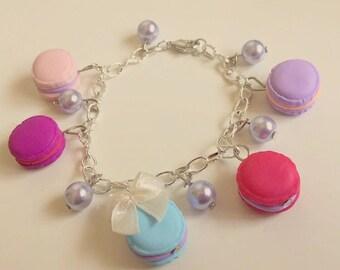 handmade polymer clay bracelet