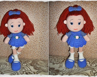 Knitted doll