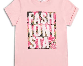 GIRLS PINK TSHIRT