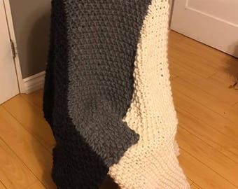 Wool Afghan Blanket