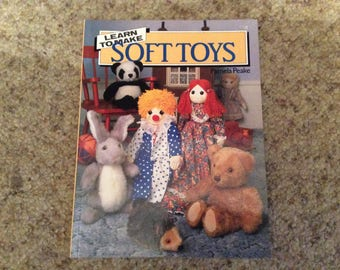 Learn to make Soft Toys by Pamela Peake
