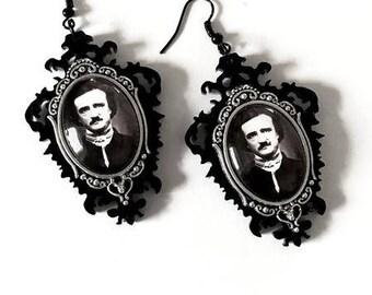 Poe Cameo Earrings