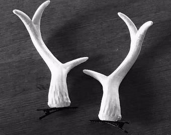 3D Printed Antler Hair Clips