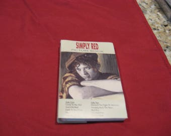 Simply Red Picture Book audio cassette 1985