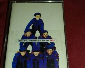 INXS Welcome to Wherever You Are cassette tape