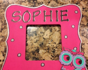 Personalized Owl Frame