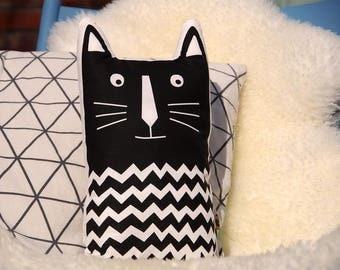 handmade cat pillow