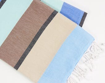Earthy - Multi-Colour Turkish Towel