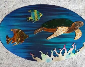 Ocean Scene Art