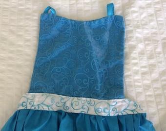 Elsa Dress Up Apron and Cape