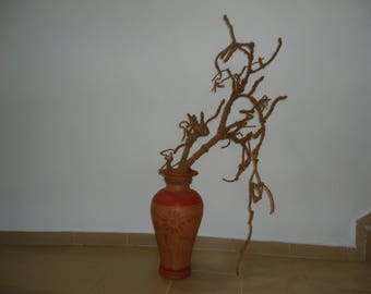This is hand made floor or table decoartion tree vas