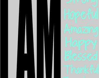 I am SVG