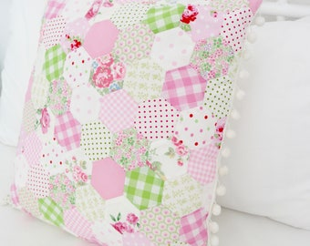 "Cushion ""Emily"" paper piecing"