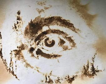 Gunpowder Art | Fire Etched All-Seeing Eye