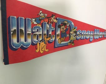 Walt Disney World Penant
