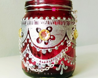 Moroccan Tea Candle 9
