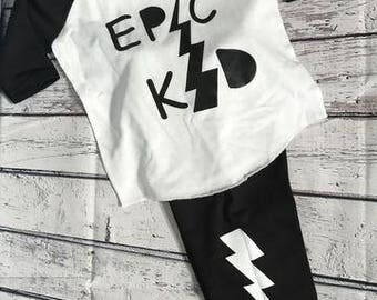 Epic Kid Toddler Boy Outfit