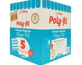 Poly-Fil® Premium Fiber Fill 5 pound Box