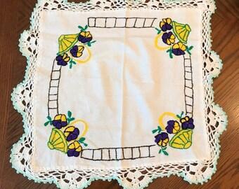 Handmade stitched cloth
