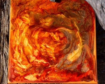 Fire Heart PEBEO Painting