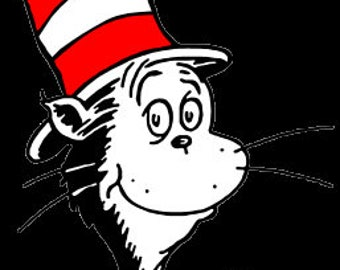 Cat in the Hat SVG