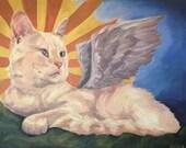 "For Casey Custom Pet Portrait Painting 16"" x 20"""
