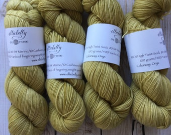 "Elliebelly MCN High Twist Sock Yarn ""Oryx"""
