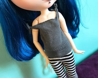 Solid Gray Tank Top T-Shirt for Blythe