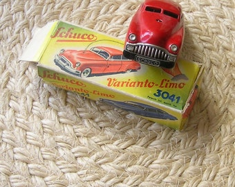 SCHUCO VARIANTO Limo  3041 ReD CAR -with Original BoX and paper insert GERman
