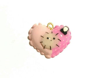Sentimental Circus Shappo Heart Clay Charm