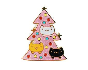 Oh Catmas Tree • Hard Enamel Lapel Pin