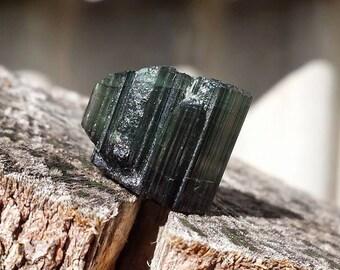 Rare Green Tourmaline Specimen