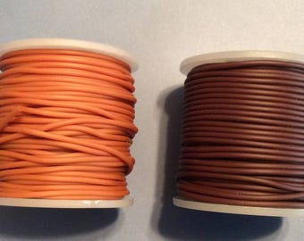 Rubber Cord  2mm solid x 4 Spools