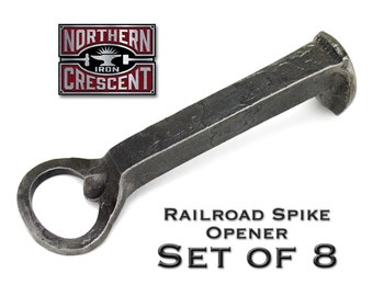 Groomsmen gift set of 8, groomsmen gifts ideas, hand forged bottle opener, father of the bride gift, wedding gifts for men, hand made, B16-S