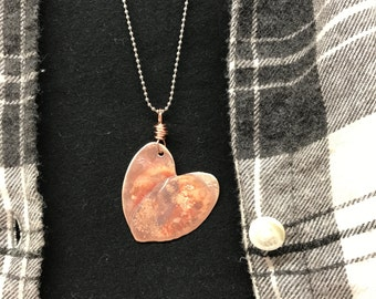 Penny Heart Pendant-Necklace